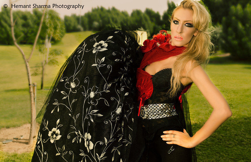Model : Anna Prigozhaeva<br /> MUA: Taz Mikyaj<br /> Photographer : Hemant Sharma