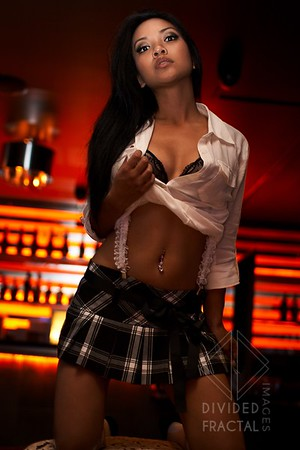 Photography Workshop, Schoolgirl, Model, Nightclub