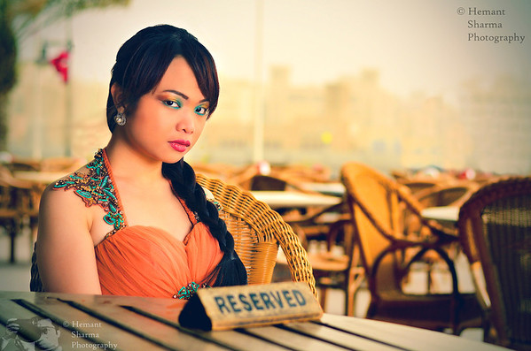 Model: Kristine Quintela Designer : Varun Mohan Make Up: Laila Mohamad Sohail Photographer: Hemant Sharma