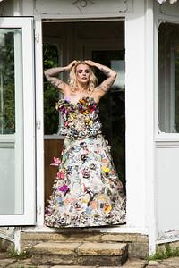 Michelle Paper Dress 20160828 155016