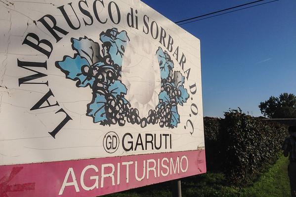 A visit to Garuti Agriturismo in Sorbara, Italy