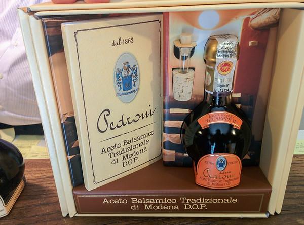 Pedroni's extra vecchio traditional balsamic vinegar of Modena