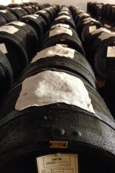 Balsamic vinegar aging room - Garuti Winery
