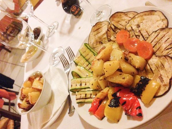 Dinner at Cantina Garuti, Sorbara, Italy