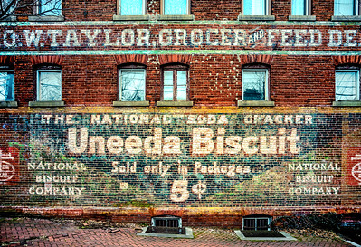 George Taylor Grocer and Feed - Uneeda Biscuit