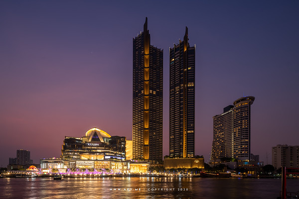 ICONSIAM and Chao Phraya River
