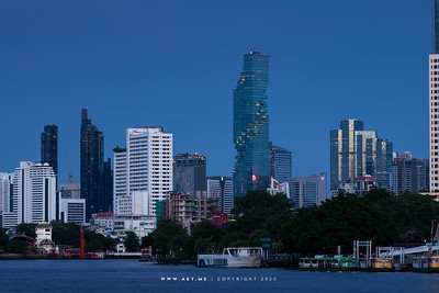Mahanakhon and the Skyline of Bangkok