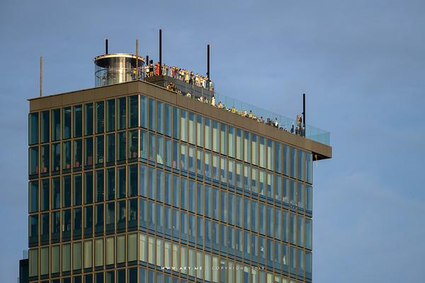 MahaNakhon view from Yao Rooftop Bar