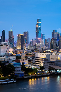 Bangkok Cityscape view from Banyan Tree Residences