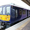 319375 in new livery for Northern Rail at Warrington BQ