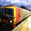 325001 diverted via Edinburgh with Sheildsmuir to Willesden service