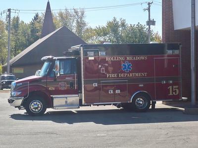 Rolling Meadows new Ambulance