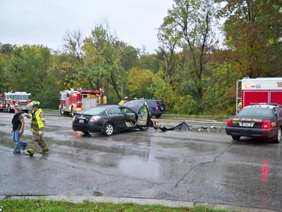 West Chicago Crash Rte 59 & Augusta