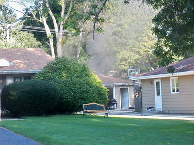 Wheaton General Alarm Garage Fire