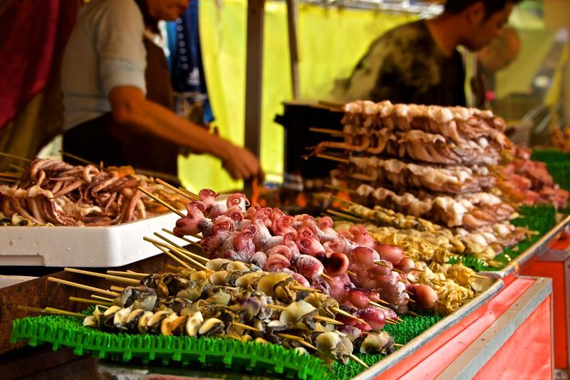 Yakitori (Seafood Skewers), Tokyo