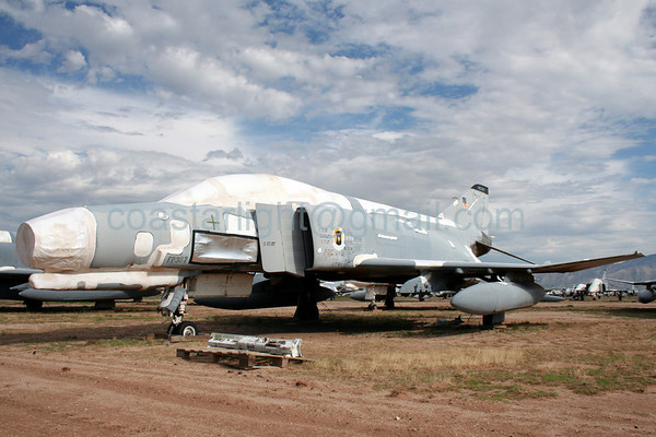 F-4 Phantom. July 20, 2006. AMARC... the Boneyard near Davis Monthan AFB, Tucson, AZ. © Brandon Lingle