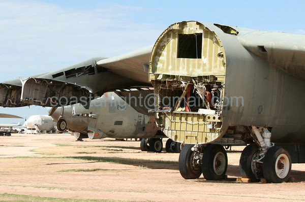 B-52 Stratofortress. July 20, 2006. AMARC... the Boneyard near Davis Monthan AFB, Tucson, AZ. © Brandon Lingle