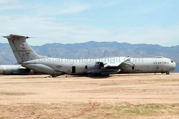 C-141 Starlifter. July 20, 2006. AMARC... the Boneyard near Davis Monthan AFB, Tucson, AZ. © Brandon Lingle