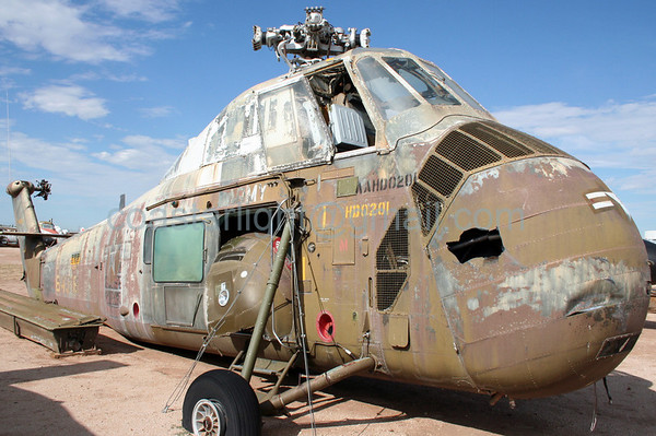 Old Army helicopter. July 20, 2006. AMARC... the Boneyard near Davis Monthan AFB, Tucson, AZ. © Brandon Lingle