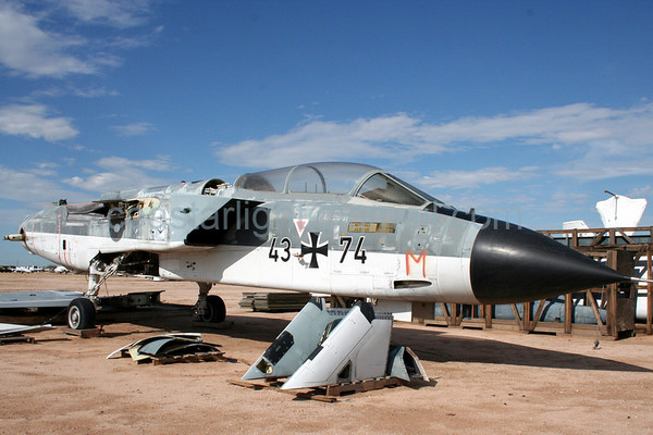 German Tornado. July 20, 2006. AMARC aka... Boneyard near Davis Monthan AFB, Tucson, AZ. © Brandon Lingle