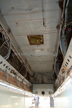 B-52 Stratofortress bomb bay. July 20, 2006. AMARC... the Boneyard near Davis Monthan AFB, Tucson, AZ. © Brandon Lingle