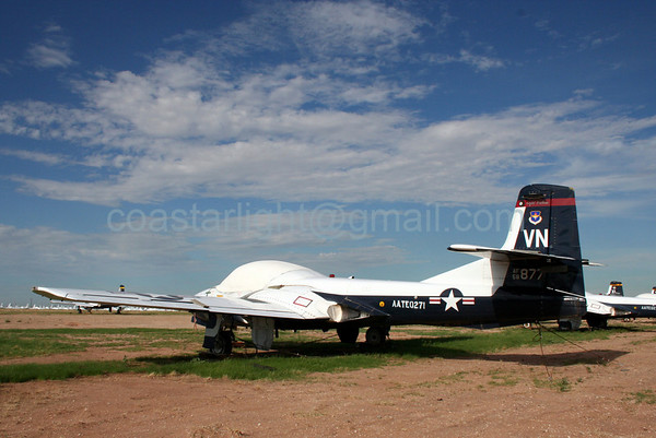 Cessna T-37 Tweet from the 8th Flying Training Squadron, Vance AFB, OK. July 20, 2006. AMARC... the Boneyard near Davis Monthan AFB, Tucson, AZ. © Brandon Lingle