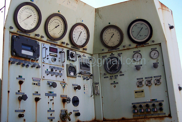 Old engine testing equipment    © Brandon Lingle