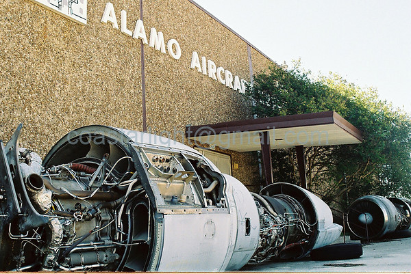 Alamo Aircraft entrance    © Brandon Lingle