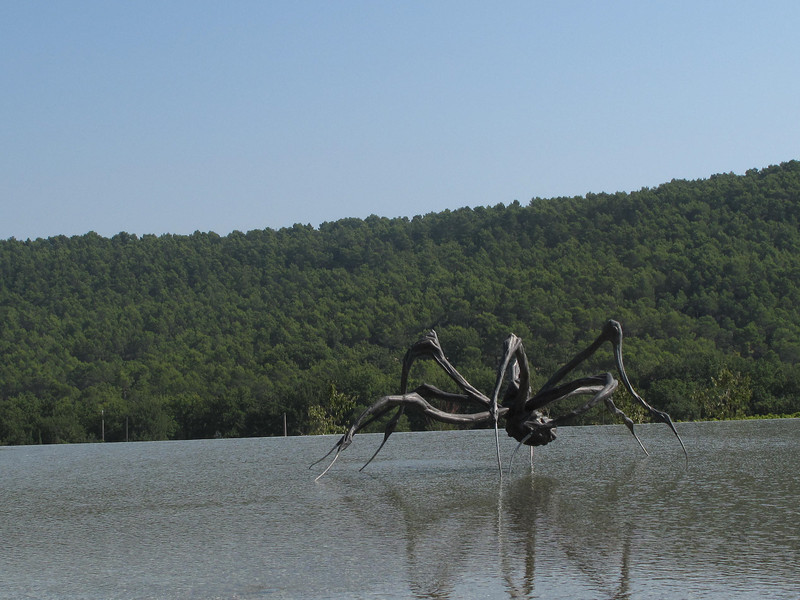 Provence - Chateau Lacoste - Louise Bourgeois - Crouching Spider