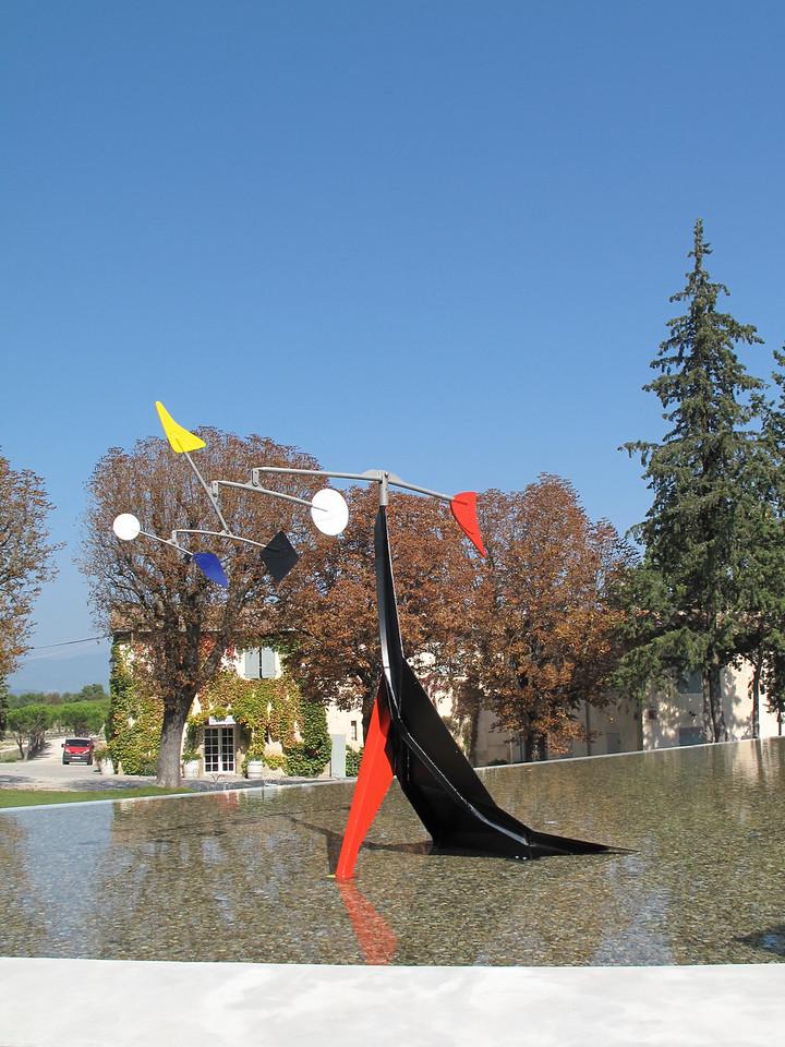 Chateau Lacoste Alexander Calder Mobile