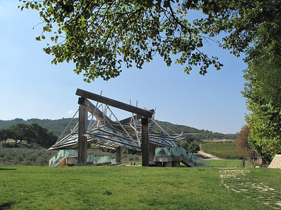 Chateau Lacoste Frank Gehry Pavilion