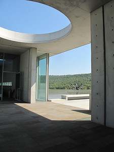 Chateau LacosteTadeo Ando Building Entrance