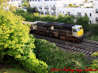 071 class, no. 076, passes Portmarnock with the evening empty Tara hopper working on the 22nd June 2011 - RIGalleries