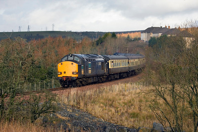 Still on 12th February 2011 and still with the same railtour, this time on the Waterside branch. - Peter Kellet