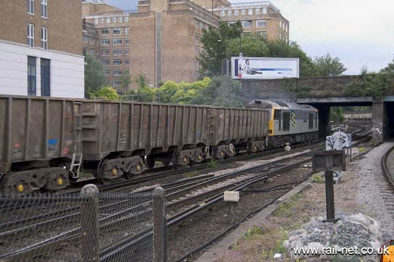 60054 on a stone train at Kensington. Image supplied by rail_net_2k
