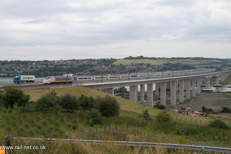 CTRL Testing 1 Medway Viaduct.  Image supplied by Marcus Dawson.