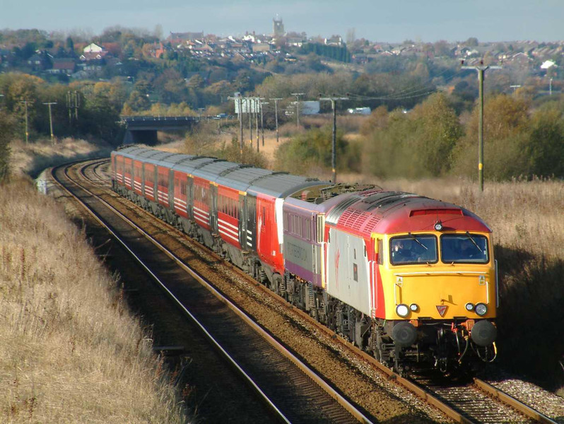 57308 near Horwich Parkway 01/11/03.  Image supplied by Mark Bearton.