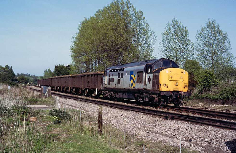 37902 at the top of the Lickey, May 1992. Image supplied by Peter Kellett