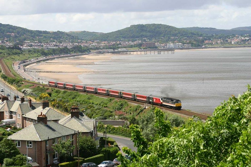 47826 above Colwyn Bay. Almost into the last week of them on NWales Coast services. Image supplied by Mark Bearton.