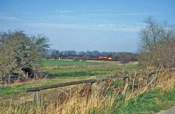 66191 near Milford Junction. Image supplied by Carl Beaumont.