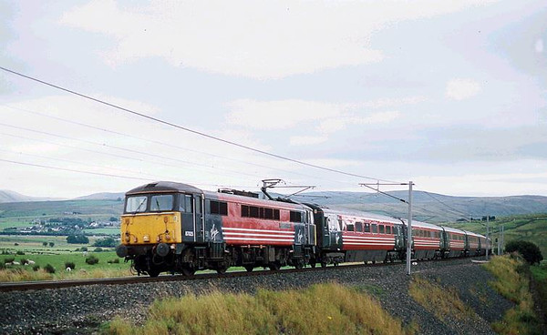 87025 on an Anglo Scot express. Image supplied by Carl Beaumont.