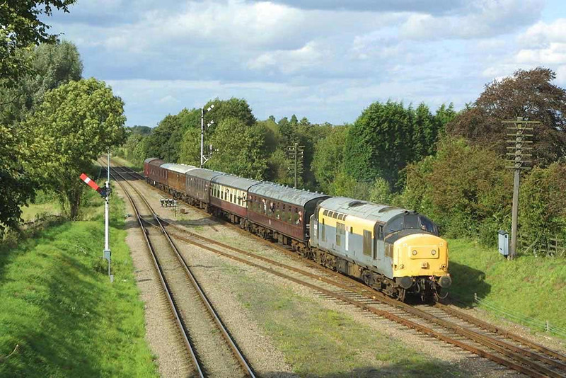 37255 approaching Quorn & Woodhouse on the Great Central Railway. Image supplied by Scott Borthwick.