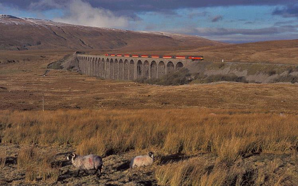 47/7 on Ribblehead Viaduct. Image supplied by Carl Beaumont.