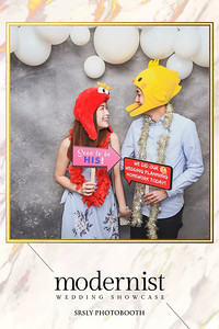 Modernist Wedding Showcase 2019 | www.srslyphotobooth.sg