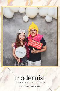 Modernist Wedding Showcase 2019 | www.srslyphotobooth.sg