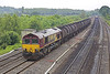 16/06/05: 66105, 6M23, 14:04 Fawley - Bromford Bridge  Bitumen Tanks Cholsey Manor Farm