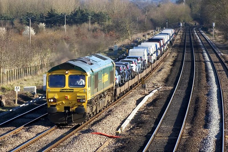 18/3/05:  66506,  6M16   13.50  Southampton - Crewe