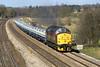 18/3/05: 37427, 7O26, Hinksey VQ - Eastleigh  Engineers.  Lower Basildon