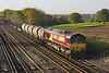 29/11/05: 66191, 6M44, 12:46 Eastleigh Yard - Wembley Enterprise