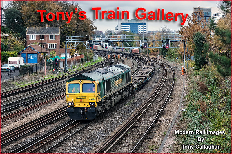 19th Nov 12:  66588 runs away from Southampton Central on 4O54 from Leeds
